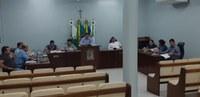 A Câmara Municipal realizou a primeira reunião Ordinária.