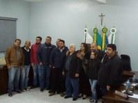 Câmara entrega Moção de Pesar aos familiares do Senhor Davi Alessandro Donha Artero